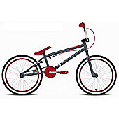 "Rooster XR2 Kids 20"" Wheel Freestyle BMX Bike Gyro Grey Red"