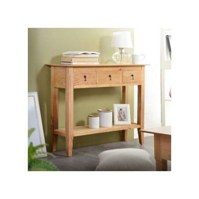 Tikamoon Classika Triti Pine Console Table