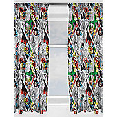 Marvel Comics Retro Curtains - Multi