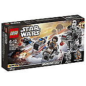 LEGO Star Wars Speeder vs First Order Microfighters 75195