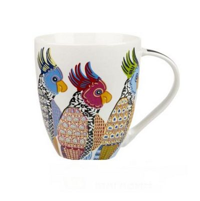 Churchill China Paradise Parakeets Crush Mug 0.50L