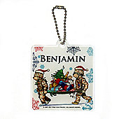 Help for Heroes Personalised Christmas Themed Tree Decoration Square Stretcher
