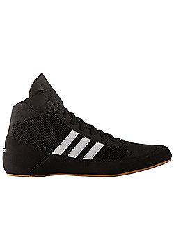 adidas Havoc Mens Adult Wrestling Trainer Shoe Boot Black/White - Black