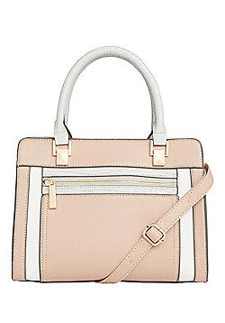 F&F Colour Block Mini Tote Bag
