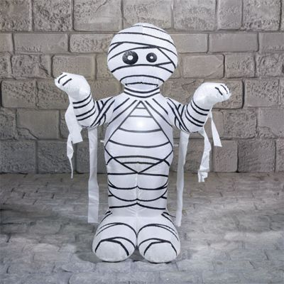 Inflatable Mummy Halloween Party Prop - 1.2m