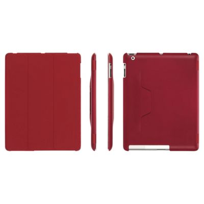Griffin Intellicase for Apple iPad 3/iPad 2 Case & Stand - Red