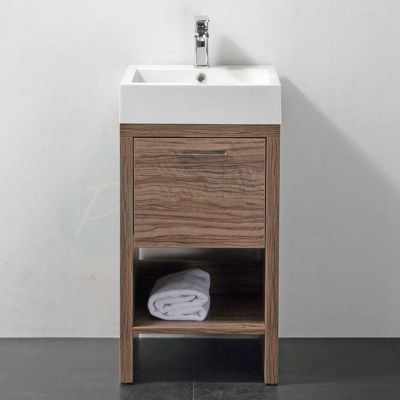 Bathroom Cabinets 400mm Wide buy prestige oslo floor-mounted cloakroom vanity unit, built-in