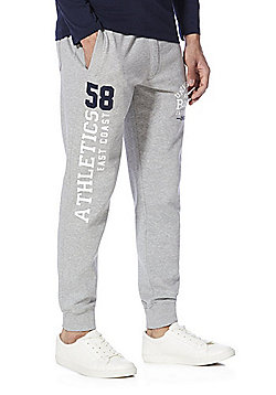 F&F Collegiate Cuffed Joggers - Grey