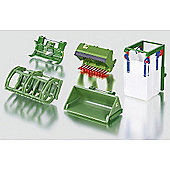 Siku Tractor Front Loader Accessories Attachments For 1:32 Model Farm Toys 3658