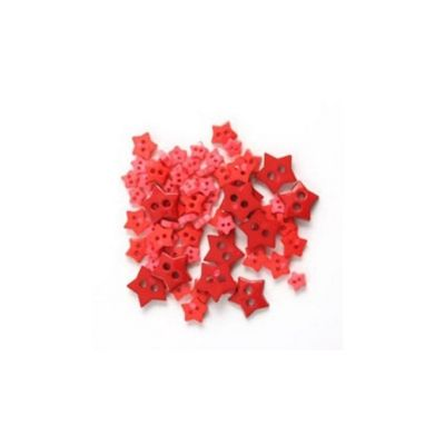 Impex Red Star Mini Buttons