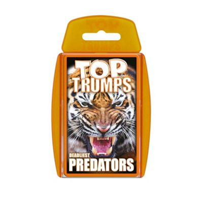 Top Trumps - Predators Card Game