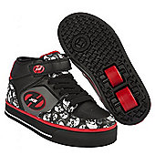 Heelys Cruz Black/Grey/Red Heely Shoe - Black