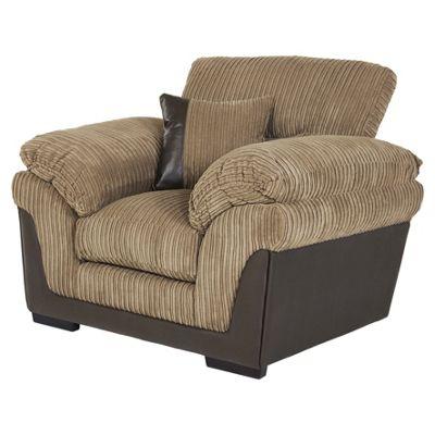 kendal jumbo cord armchair taupe
