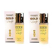 Pure Gold Lady Milton Lloyd Parfum de Toilette 2 x 55ml