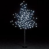 Snowtime 5ft Ice White Cherry Blossom Tree (150 LEDs)