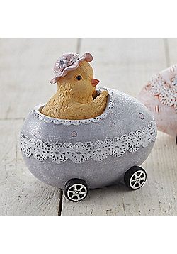 Chick in Easter Egg Car Money Box