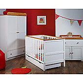 Obaby Newark 3 Piece Furniture Set - White