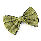 Green Tweed Bow Tie