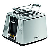 Hotpoint Ultimate Collection TT 22E UP0 UK Toaster - Chrome
