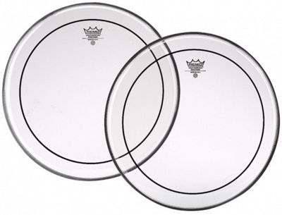 Remo PS-1322-00 22 inch Pinstripe Clear Head