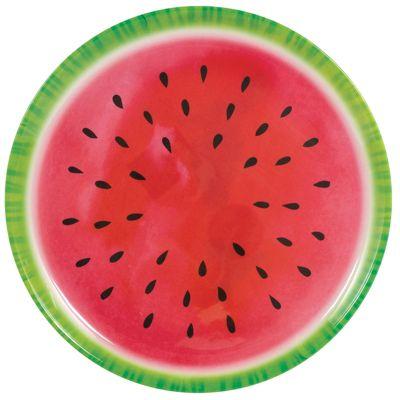Fruit Salad Serving Plate - 34cm Plastic Platter