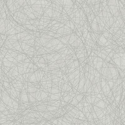Boutique Twist Embossed Metallic Geometric White/Silver Wallpaper