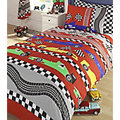 Racing Car Double Duvet