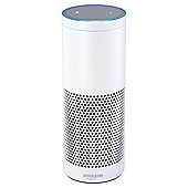 Amazon Echo Plus - With built-in smart home hub (White)- Includes Philips Hue White E27 Edison Screw Light Bulb
