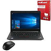 "Lenovo ThinkPad E470 14"" Laptop Intel Core i3-7100U 4GB 500GB Windows 10 Pro with Internet Security & Mouse - 20H10038UK"