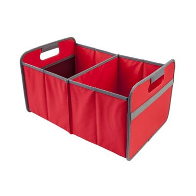 Meori Classic Collection Large Flatbox Foldable Box 30 Litre in Hibiscus Red