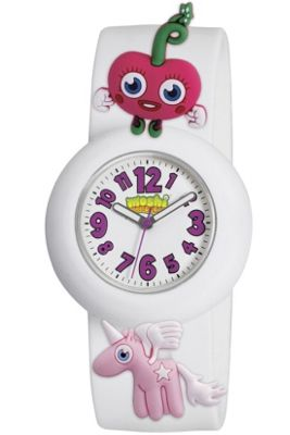 Peers Hardy White Luvli Moshi Monsters Watch With Charms