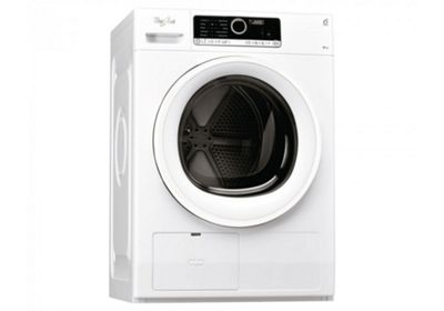Whirlpool Supreme Care HSCX80110 Tumble Dryer in White