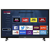 Sharp LC-CFF6001K Smart Full HD  Inch LED TV with Freeview HD - Black
