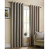 Memphis Eyelet Lined Curtains - Gold