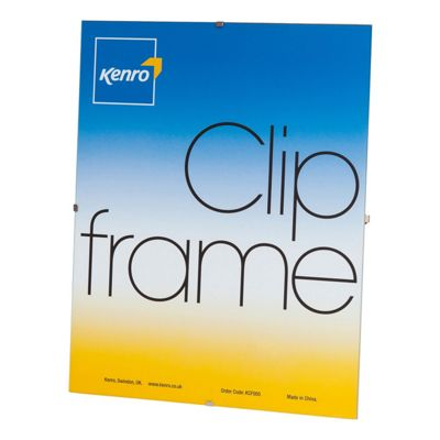 Kenro Clip Photo Frame to hold a 8x12