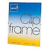 "Kenro Clip Photo Frame to hold a 8x12"" photo."