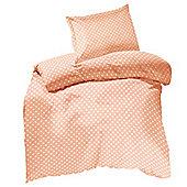 Children's 100% Cotton Duvet Cover Sets - Pink Polka Dots