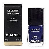 Chanel Le Vernis Navy Nail Polish 681 Fortissimo