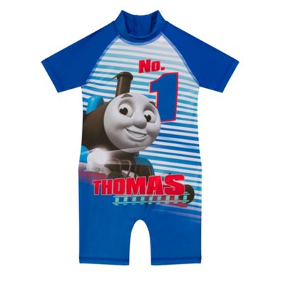 Thomas & Friends Official Gift Boys Surf Suit Blue 18-24 Months