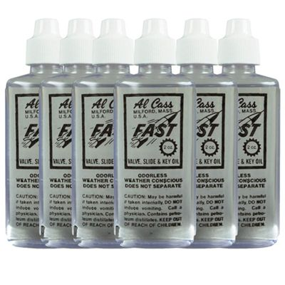 Al Cass Fast 341 Valve Oil - Pack of 6
