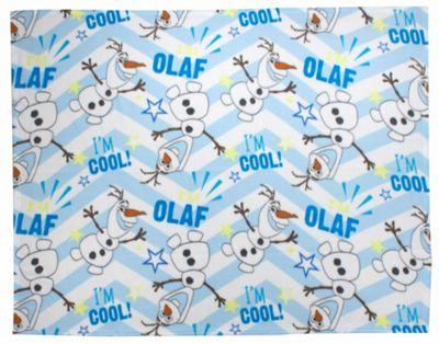 Disney Frozen Olaf 'I Am Cool' Rotary Fleece Blanket