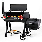 Premium Charcoal Offset BBQ Pit Smoker Milwaukee