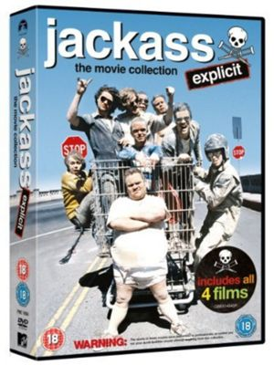 Jackass - 1-3 Movie Collection (DVD Boxset)