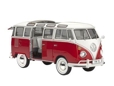 REVELL 1/24 VW SAMBA BUS