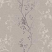 Precious Metals Orabella Wallpaper - Rose Gold - Arthouse 673403