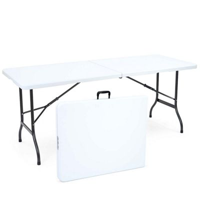 buy 6ft folding trestle table from our camping furniture range - tesco