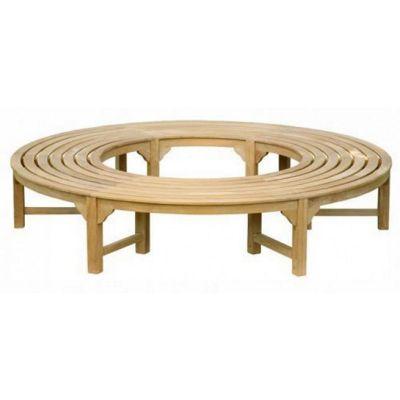 2.2 Round Teak Tree Seat