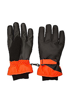 Mountain Warehouse Extreme Textured Kids Ski Gloves - Black