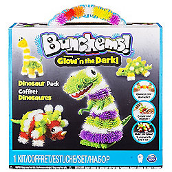 Bunchems - Glow n The Dark - Dinosaur Pack