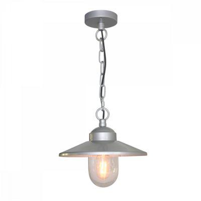 304SS/Silver Chain Lantern - 1 x 60W E27